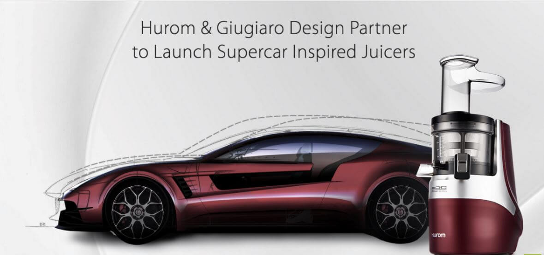 Wyciskarka Hurom H-AF Alpha Plus Projekt Giugiaro Design
