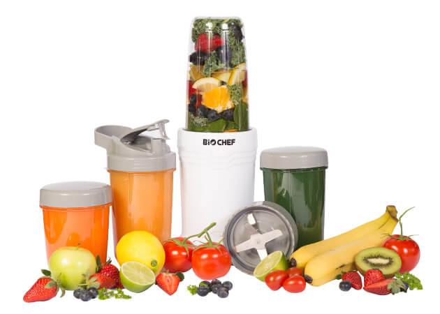 Blender BioChef Nutriboost Bullet z Warzywami i Sokami