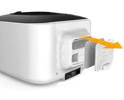 Filtr powietrza w dehydratorze IR CI