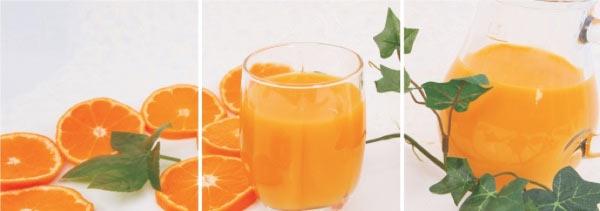 Sok pomarańczowy z wyciskarki Cooksense