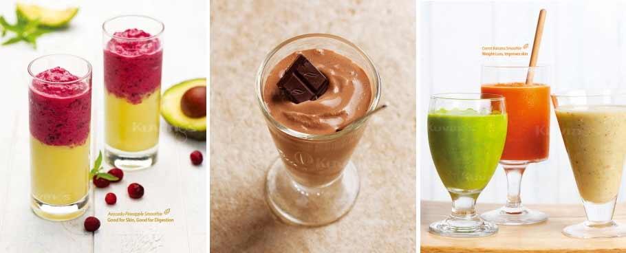 Wyciskarka Kuvings - koktajle i smoothies