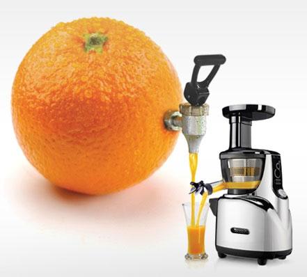 Wycikarka Kuvings - sok z pomarańczy