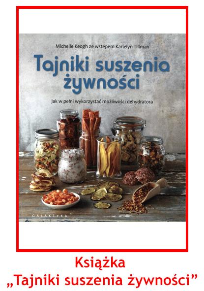 Książka o Suszeniu Żywności Gratis od Terapii Sokami
